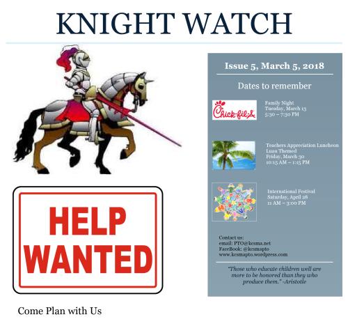 Knights Watch Issue 5