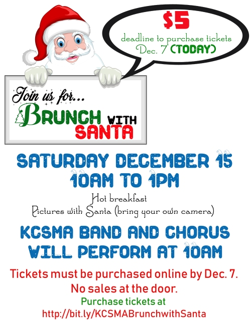 Brunch with Santa Flyer